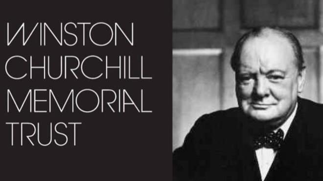 The former Winston Churchill Memorial Trust website