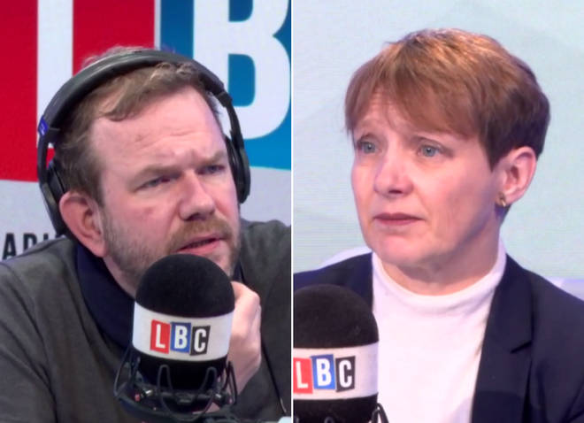 James O'Brien with MEP Clare Moody