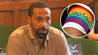 Rio Ferdinand said he recently spoke to a current gay male footballer about them coming out