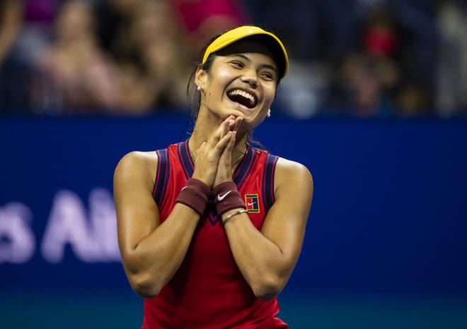 Emma Raducanu has made the US tennis final.