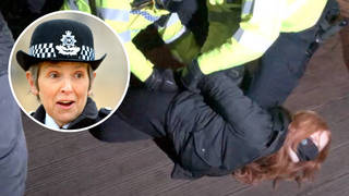 """Patsy Stevenson called on Cressida Dick to """"take your blindfold off"""" and address issues in the Met Police."""