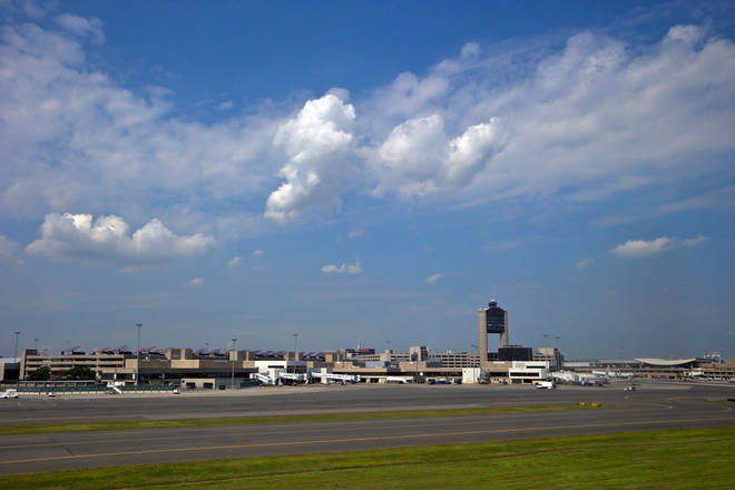 The first two flights took off from Boston Logan International Airport