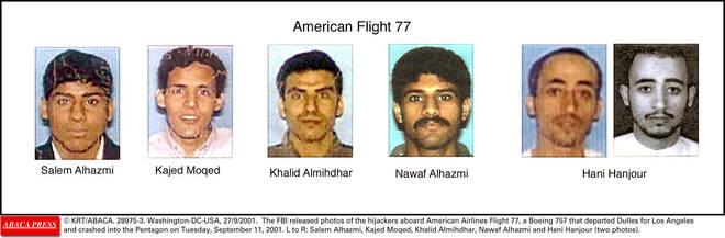 Flight 77 also had five hijackers on board