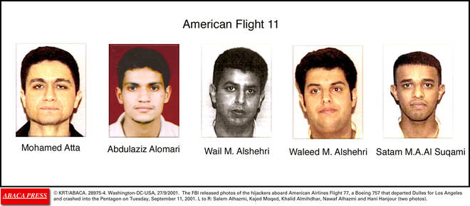 Flight 11 had five hijackers on board
