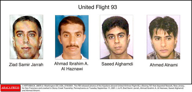 Flight 93 had four hijackers on board