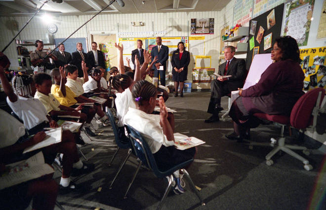 President Bush was in a classroom in Sarasota on the morning of the attacks