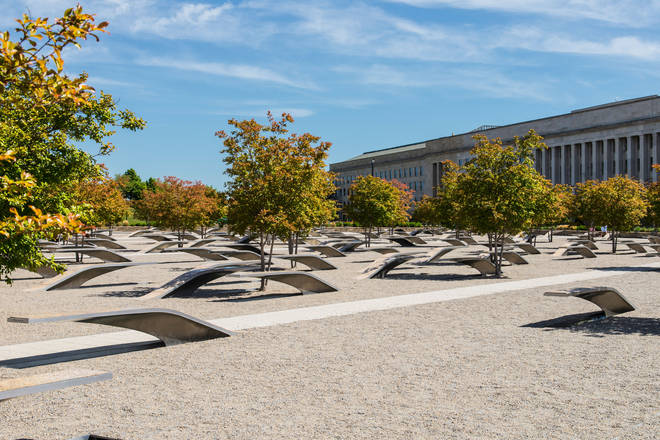 The memorial at the Pentagon
