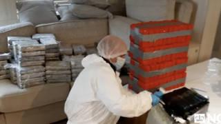 Police seized £120 million of cocaine