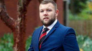 PC Declan Jones was sentenced to six months in prison.