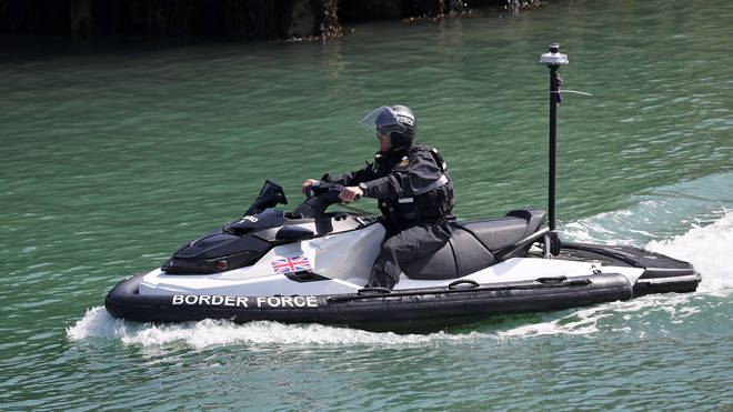 The jet skis will reportedly be used to turn boats around mid-crossing.