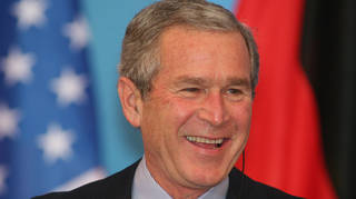 George W. Bust was President of the United States from 2001 until 2009.