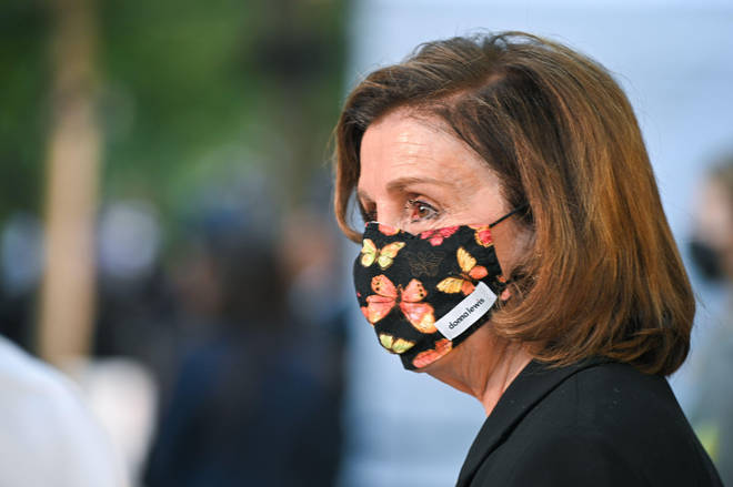Nancy Pelosi was among the politicians who attended memorial events.