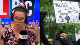 Natasha Devon challenges caller who says BLM has 'set back race relations 20 years'