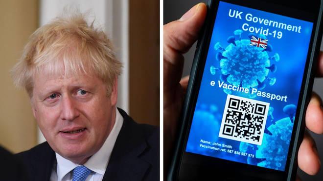 Boris Johnson is scrapping Covid vaccine passports