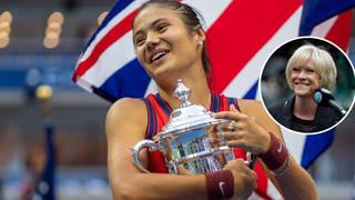 Emma Raducanu win 'at the top' of British sporting history, Sue Barker claims