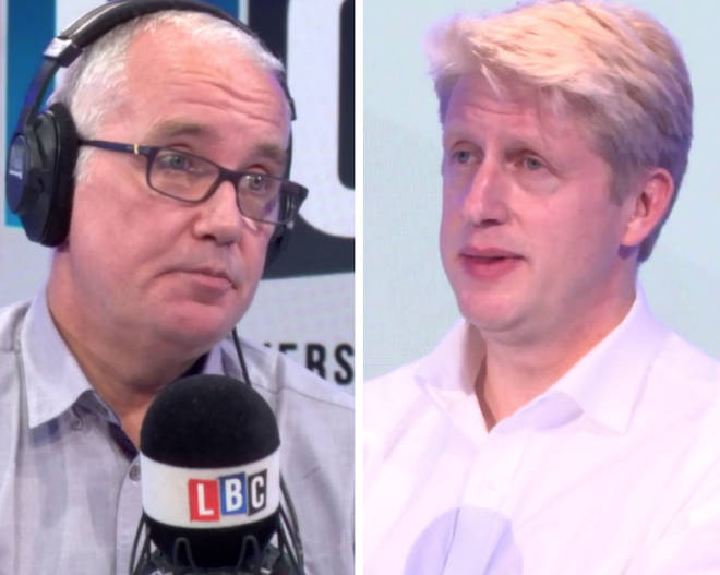 Eddie Mair grilled Jo Johnson over his campaign for a second Brexit referendum