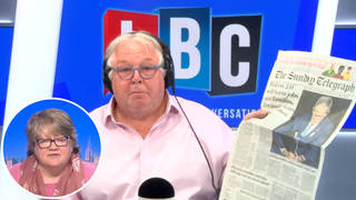 The Work and Pensions Secretary was speaking to LBC's Nick Ferrari