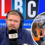 'I'd rather Insulate Britain shut down supermarkets than disrupt commuters': James O'Brien caller