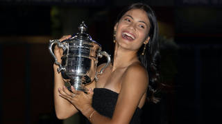 Emma Raducanu made tennis history over the weekend