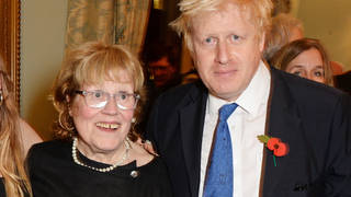 Boris Johnson's mother has died at the age of 79