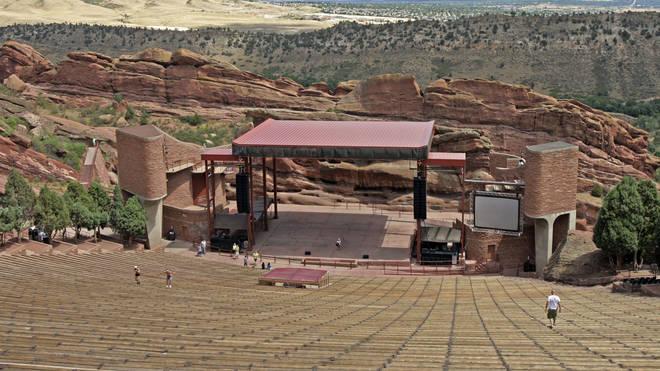 The Red Rocks venue outside Denver, Colorado