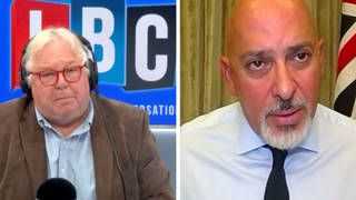The vaccines minister Nadhim Zahawi was questioned about the decision to vaccinate all 12 to 15 year olds by Nick Ferrari on LBC.