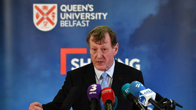 Lord Trimble at the 20th Anniversary of the signing of the Good Friday Agreement