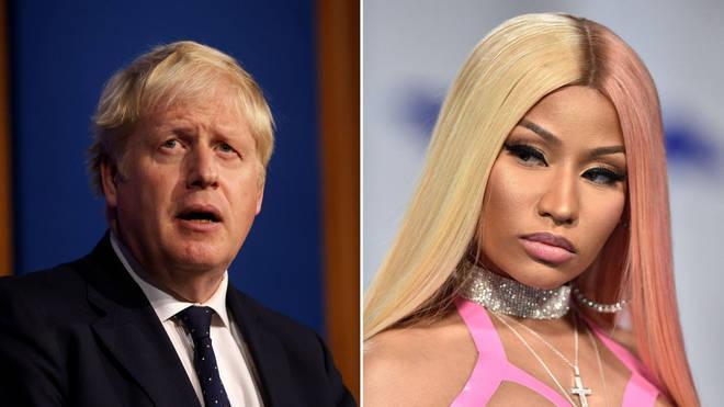 Nicki Minaj Mocks Boris Johnson After the British PM Dismisses Her COVID Vaccine Theories