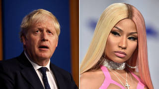"""Nicki Minaj said she """"went to school with Margaret Thatcher"""" in her response to the PM"""
