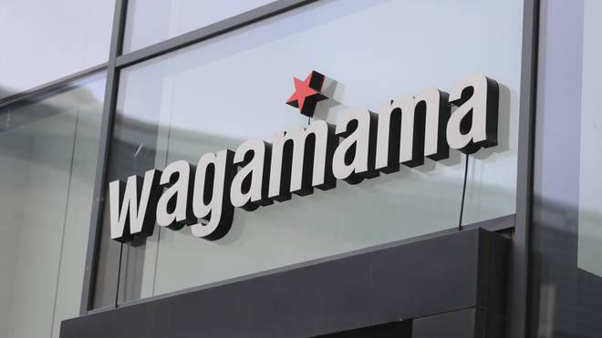 A Wagamama sign