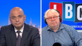 Sajid Javid said only 30% his staff are behind their desks and working in the office.