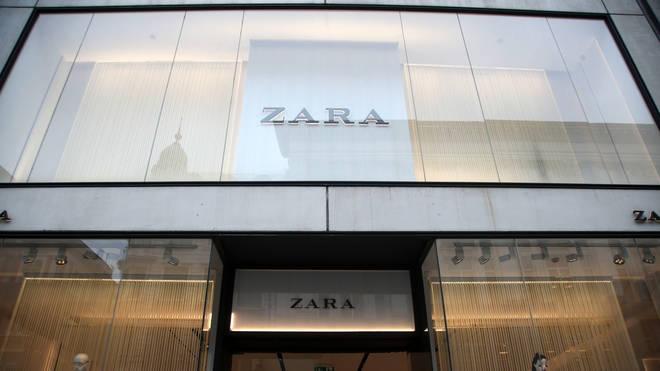 A Zara store