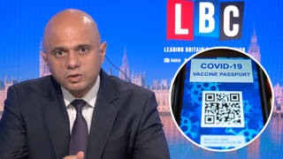 Health Secretary won't rule out vaccine passports for the pub