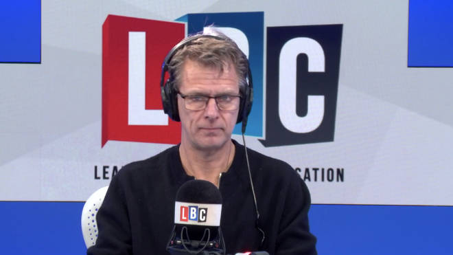 Andrew Castle in the LBC studio