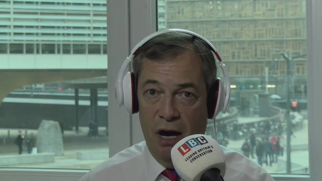 Nigel Farage will not support Theresa May's deal at the European Parliament