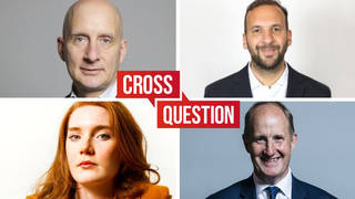 Cross Question with Iain Dale | Watch live from 8pm