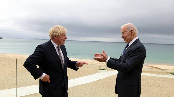 Boris Johnson will speak tonight with US president Joe Biden