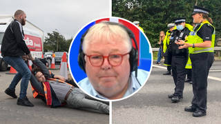 Ex-cops blast police response to Insulate Britain protesters