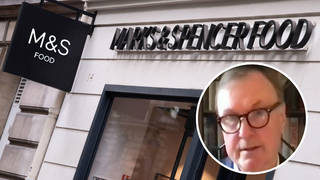M&S chief Archie Norman hinted at the closure of stores in an exclusive interview with LBC on Monday.