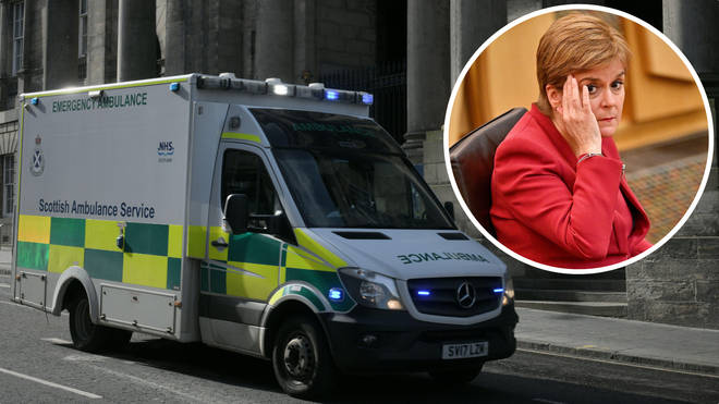 """First Minister Nicola Sturgeon has apologised """"unreservedly"""" for the crisis in the Scottish ambulance service."""