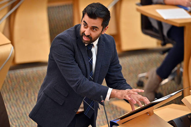 """Scottish Health Secretary Humza Yousaf has been criticised for telling people to """"think twice"""" before calling for an ambulance."""