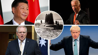 AUKUS alliance 'the consequence of Chinese behaviour'