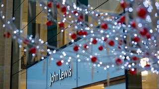 John Lewis is taking measures to secure its Christmas stock