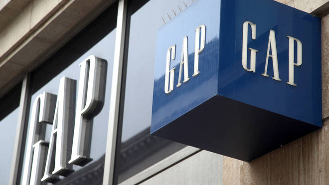 Gap store signs