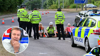 M25 eco protests 'arrogance on a grand scale', Tory MP fumes