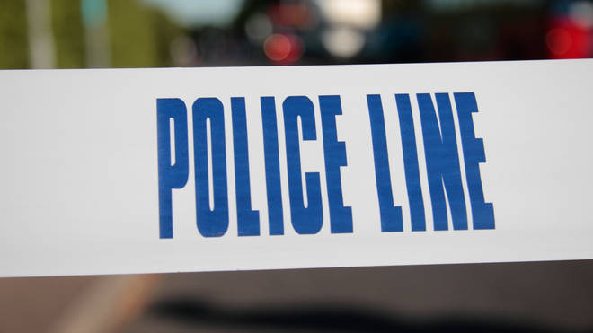 Police were called to the scene on Friday evening.
