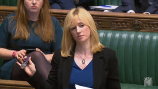 Labour MP Rosie Duffield has been forced to pull out of her party conference