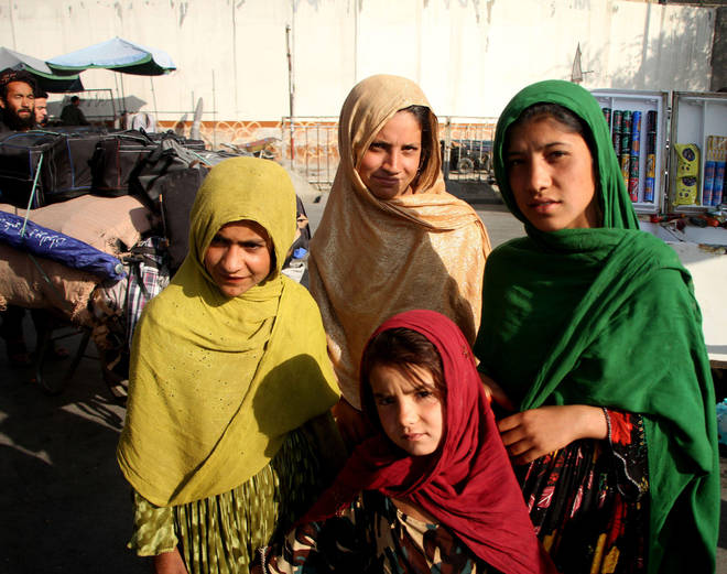 Afghan girls have been prevented from returning to secondary schools.