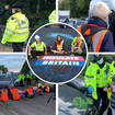 Insulate Britain clashed with furious motorists on the M25