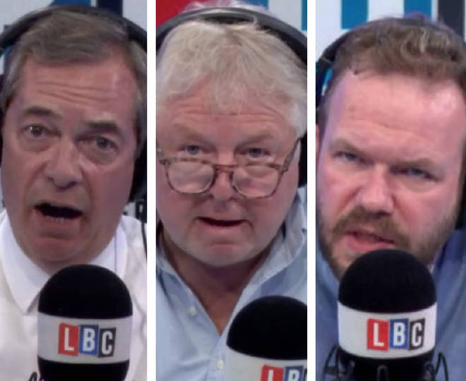 LBC's biggest on-air bust-ups on 2018